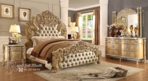 Kamar Set Klasik Royal French Mewah