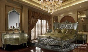 Kamar Set Mewah Jati Royal Aleksandra