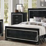 Kamar Tidur Mewah Minimalis Black Modern