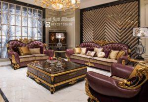 Kursi Sofa Tamu Antik Klasik Ukir Florentin