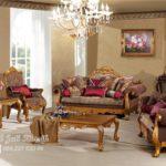 Kursi Sofa Tamu Arabian Klasik Furniture Jepara