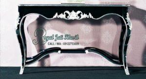 Meja Console Ukir Silver Jati Classic