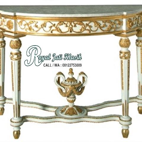 Meja Konsol French Royal Italia Klasik