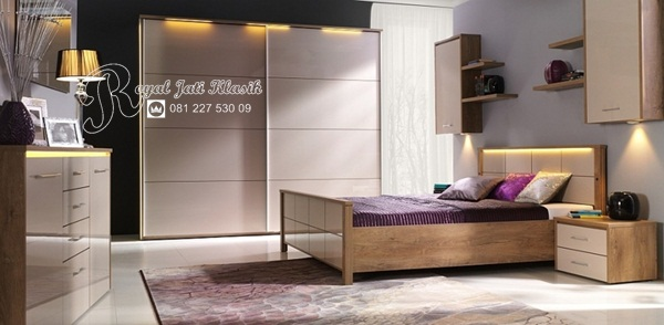 Set Kamar Mewah Jati Royal French
