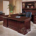 Set Meja Kantor Direktur Italian Royal Klasik