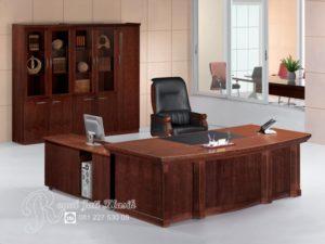 Set Meja Kantor Direktur Minimalis Cleopatra