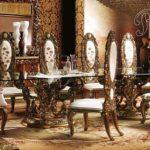 Set Meja Makan French Royal Imperial