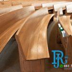 Bangku Gereja Kristen Protestan Jati Minimalis