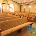 Bangku Gereja Minimalis Royal Jati Mewah
