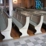Bangku Kursi Gereja Kristen Warna Putih