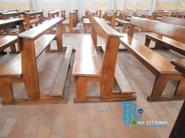 Bangku Kursi Gereja Minimalis Harga Murah