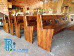 Bangku Kursi Gereja Panjang Jati Minimalis