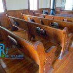 Kursi Panjang Gereja Jati Minimalis