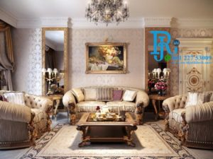 Kursi Sofa Tamu Klasik Jati Royal Luxury