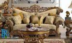 Kursi Sofa Tamu Klasik Purple Jumbo Modern