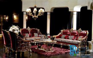 Kursi Sofa Tamu Royal Klasik Eropa Amedeus