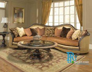 Kursi Sofa Tamu Royal Mewah Modern Ancona