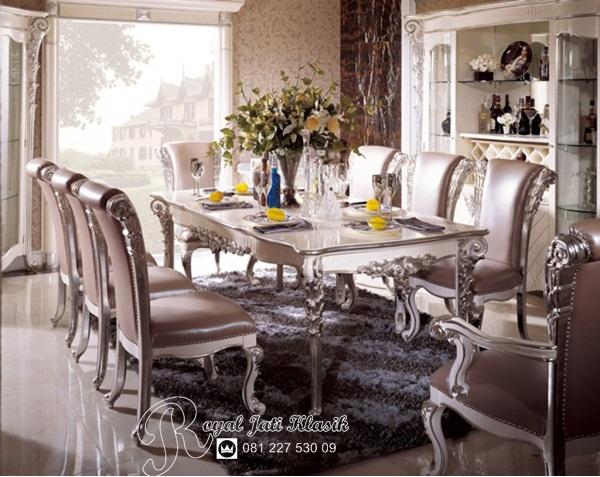 Set Meja Makan Royal Klasik Minerva
