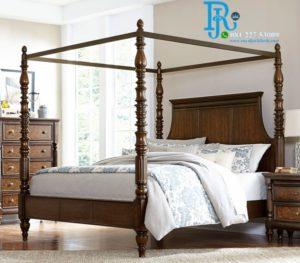 Tempat Tidur Kelambu Royal Minimalis