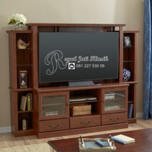 Bufet TV Set Lemari Eropa Minimalis Safir