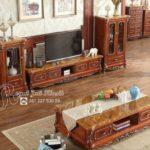 Set Bufet TV Jati Anaida Jati Royal Klasik