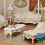 Set Sofa Ruang Tamu Keluarga Klasik Royal Baroque
