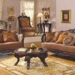 Set Sofa Tamu Alexandra Jati Ukir Klasik