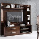 Bufet TV Set Minimalis Jati Spanyol