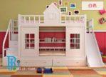 Ranjang Tidur Anak Model Istana Putih Duco