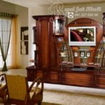 Set Bufet TV Jati Ukir Modern Classic