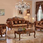 Set Sofa Tamu Jati Mewah Luxury Italia