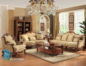 Set Sofa Tamu Jati Royal Eropa Klasik