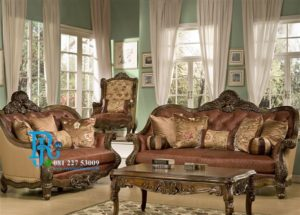 Set Sofa Tamu Jati Ukir Grand Father