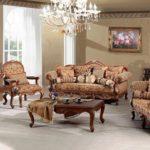 Set Sofa Tamu Jati Ukir Luxury Madeleine