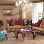 Set Sofa Tamu Jati Ukir Royal India