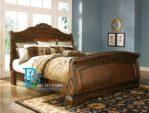 Tempat Tidur Bagong Modern Jati Ukir