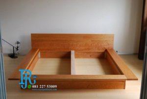Tempat Tidur Minimalis Jati Lesehan Jepang