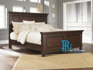 Tempat Tidur Minimalis Jati Model Simpel