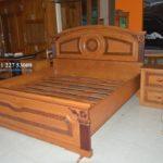 Tempat Tidur Minimalis Jati Rahwana