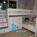 Tempat Tidur Tingkat Anak Duco Dresser Mewah
