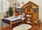 Tempat Tidur Tingkat Anak Model Castle