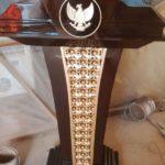 Mimbar Podium Pidato Kantor Pemerintah Garuda