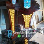 Podium Jati Minimalis Presiden Indonesia