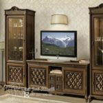 Set Bufet Tv Klasik Jati Ukir Ruble