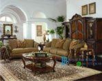 Set Sofa Tamu Klasik Eropa Mewah Dhaka