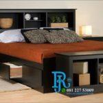 Tempat Tidur Minimalis Laci Multifungsi