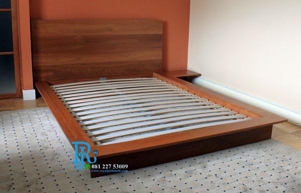 Tempat Tidur Minimalis Lesehan Jepang