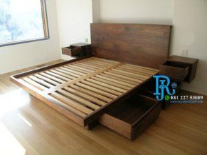 Tempat Tidur Minimalis Lesehan Multifungsi