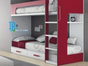 Tempat Tidur Tingkat Camarote Duco Merah