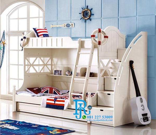 Tempat Tidur Tingkat Duco Factory Mewah